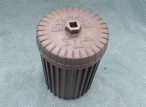 System One Oil Filter Washable Reusable Race Car Boat Metal Housing REAL DEAL NR