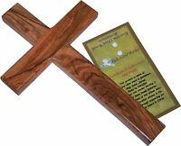 """Olive Wood Cross (8""""H)"""