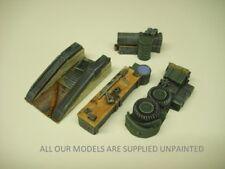Wargames scenery. vehicle field maintenance set.1/56 scale. 28mm 4piece (854)