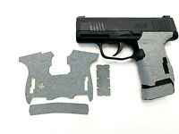HANDLEITGRIPS Gray Textured Rubber Gun Grip Gun Parts SIG SAUER P365