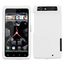 For Motorola DROID RAZR HARD Protector Case Snap on Phone Cover Ivory White