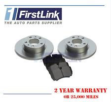 35 S 12 V Rear Delphi Brake Pads Brake Discs 296mm Solid Iveco Daily 35 C 12 V