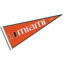 Miami Canes Team Logo Pennant