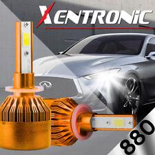60W 6000LM LED Headlight Kit 880 881 893 894 899 Fog Light Bulbs 6000K White (A)