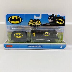 Batman Customised Trackmaster Motorised Train Thomas The Tank Engine Super Hero