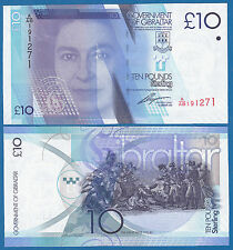 Gibraltar 10 Pounds P 36 2010 UNC Low Shipping! Combine FREE!