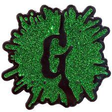 Goosebumps Glitter G Splat Logo Enamel Pin Kreepsville Hat Lapel Horror Books