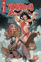 Vampirella Red Sonja #1 Dodson Main Cover Dynamite Comic 1st Print 2019 NM