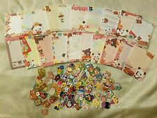Kawaii San-X Chocopa Chocolate Panda Loose Mini Memo Sheets 20pcs and Stickers!