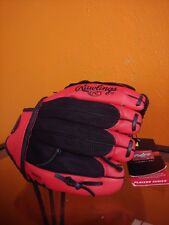 Rawlings Players Series Youth T-Ball Beginner Baseball Glove Pl10Bsm 10 inches