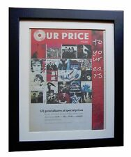 U2+Achtung Baby+POSTER+AD+RARE ORIGINAL 1992+QUALITY FRAMED+EXPRESS+GLOBAL SHIP