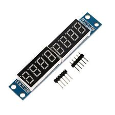 MAX7219 LED Dot matrix 8-Digit Digital Display Control Module for Arduino LO