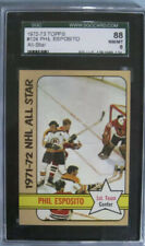 1972-73 Phil Esposito All-Star Card #124 Graded SGC 8!!! Topps Philadelphia