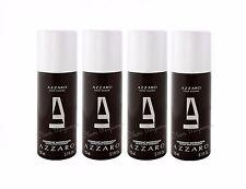 Pack of 4 Azzaro Pour Homme Deodorant Spray Men 5.1oz 150ml * 20.4oz 600ml