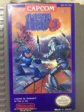 MEGA MAN 3 NES Nintendo Good