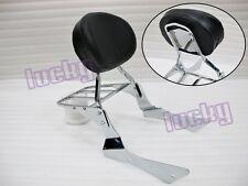 Backrest Sissy Bar for Honda Shadow Spirit VT750 DC 01-09 lu#Cr