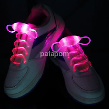 Hot Light-Up LED Flash Waterproof Glow Shoelaces Strings Party Disco Lots ZH
