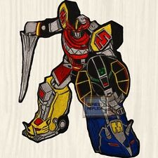 Power Rangers Mighty Morphin Megazord TV Series Embroidered Big Patch for Back