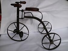 Vintage Folk Art Decor Tricycle Handcrafted Americana Rustic **Price Discounted!