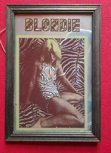 "Blondie Debbie Harry Rare Vintage Mirror Memorabillia 13""x9"" Sexy Atomic.VINTAGE"