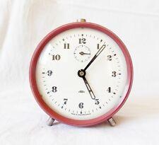 Rare Vintage 1960s PRIM Alarm clock Czechoslovakia Retro Old Desk table watch