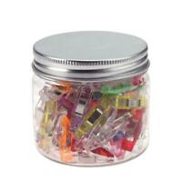 50pcs Plastic Wonder Clips Holder for DIY Patchwork Fabric Quilting HOT
