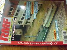 µ? Revue RMF n°377 Wagon Pulverulents BB 36000Appareils de voie BB 1002