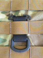 Tactical Black T-Ring Webbing Adaptor for molle/pals/acu/emt/military/DEVGRU/SOF