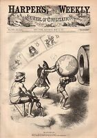 1877 Harpers Weekly May 19 - Turkey and Russia prepare for war; Iwakuni Japan
