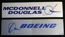 BOEING MCDONNELL DOUGLAS MD BUMPER STICKER DECAL ZAP AIRLINER PIN UP GIFT JET