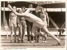 ERIK SJVALL NORWAY 1930s White City Athletics Vintage Press Photograph c.1937