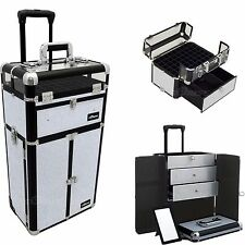 Nail Polish Organizer Case Trolley Holds OPI Gel Manicure Pedicure Artist New
