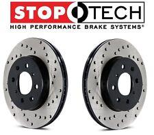 For Honda for Civic Acura Integra El Set Pair Front Drilled Brake Rotors