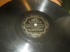78RPM Victor 21939 Coon-Sanders, Kansas City Kitty / Tennessee Lady, typical V-