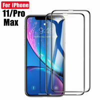 10D Full Cover Tempered Glass Screen Protector For iPhone 11 Pro Max XS Max/X XR