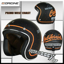CASCO MOTO JET VINTAGE SCOOTER CUSTOM ORIGINE PRIMO WEST COAST TAGLIA M (57-58)