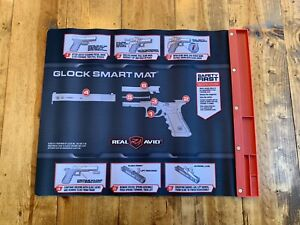 Real Avid Glock Smart Cleaning Mat W/Magentic Tray Diagram