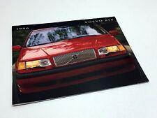 1996 Volvo 850 Series Sedans Brochure