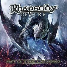 RHAPSODY OF FIRE - Into the Legend CD New release 2016