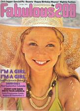 FABULOUS 208 UK magazine-1-9-73 David Essex Cassidy Osmond Chris Jagger
