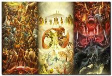 "The Legend Zelda Game Art Silk Poster 24x36"" Large Wall Decor Ocarina Of Time"