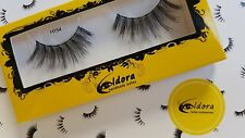 Eldora False Eyelashes H154 Human Hair Strip Lashes