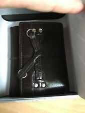 Manzoni genuine leather wallet - dark brown, brand new in the box.Bargain.