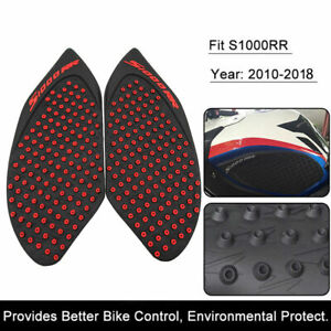 For BMW S1000RR S 1000 RR 2010-2018 Motorcycle Tank Protector Knee Pad Sticker