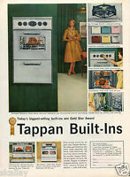 1959 Print Ad of Tappan Built-In Fabulous 400 & Revelation Stove Oven