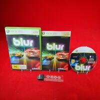 Blur - Microsoft Xbox 360 PAL Game - Great Condition + Manual *BRCollectables*