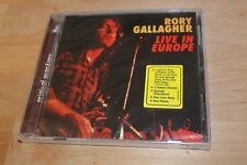 Rory Gallagher LIVE IN EUROPE 1999 Buddha Records CD 2 Bonus Songs  NEW SEALED