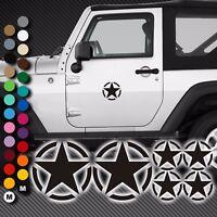 A73# Aufkleber US Army Armee Stern Sterne Auto Autoaufkleber Sticker U.S. Jeep