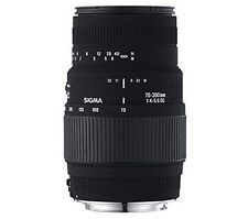 SIGMA 70-300 mm f/4-5.6 DG Macro Telephoto Zoom Lens - for Nikon