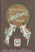 Pubblicitaria confetture e caramelle e Drops Atti Bassi e c. Bologna viaggiata